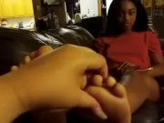 @scarletttredd_ & @hisfavorite01 ebony feet 4 download