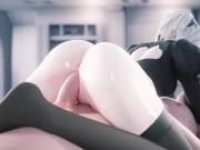 2B Vaginal and Anal Nier Automata video