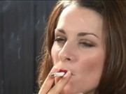 The almighty and oh so sexy Caren blowing amazingly hot smoke!  porn