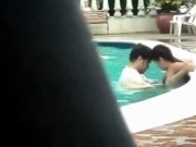 indian couple swimming pool sex very erotic public sex porn