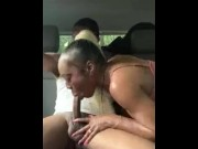 Busty bitch gets fucked in car download