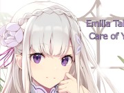 Emilia Takes Care of You -Hentai JOI (Patreon Choice August) video